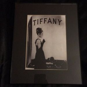 Other - Black & White Breakfast At Tiffany's Frame